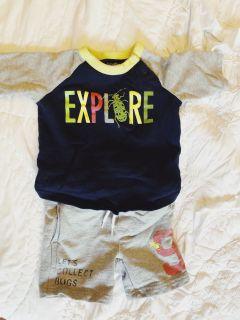6-12 months boy lot bundle of clothes- baby boy