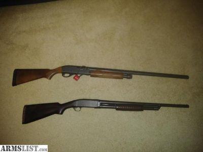 For Sale/Trade: 2 Remington shotguns