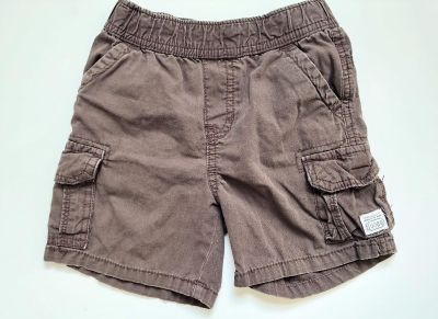 Baby Boys The Childrens Place Brown Cargo Shorts - Sz 24 mo