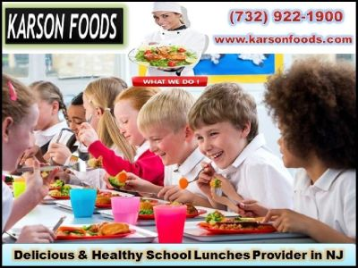 Healthy School Food  Services |New Jersey, 07712| Karson Food