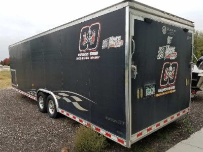 Car Hauler 2008 Pace American Shadow GT 25' Custom Enclosed