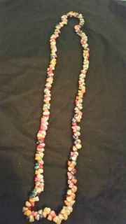 Vintage 1940's-50's Exotic Trochus shell Hawaiian Lei necklace