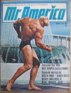 Mr America Magazine - Dave Draper
