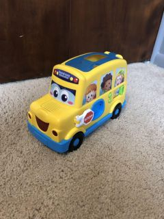 Count and Learn Alphabet Bus