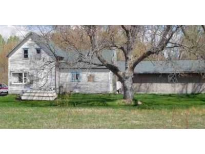 3 Bed 1 Bath Foreclosure Property in Marengo, WI 54855 - Marengo River Rd