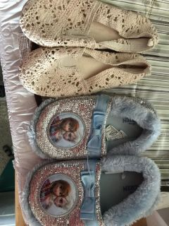 Slippers and shoes size 12