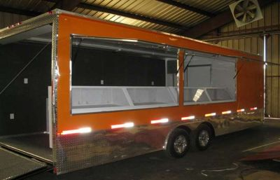 CONCESSION/ ENCLOSED TRAILER