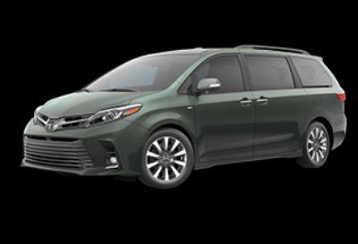 2018 Toyota Sienna Limited (Alumina Jade Metallic)
