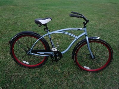 "Christopher Metcalfe Creations Huffy 26"" Cranbrook Men s Cruiser Bike with Perfect Fit Frame by"