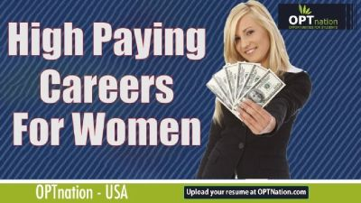 High Paying Careers for Women | Best Jobs for Women in USA