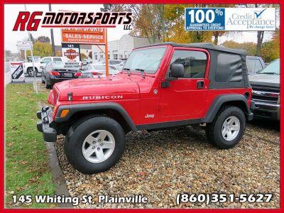 2006 Jeep Wrangler Rubicon (red)