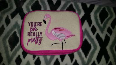 New* without tags small bag for toiletries, make-up, travel, ect.