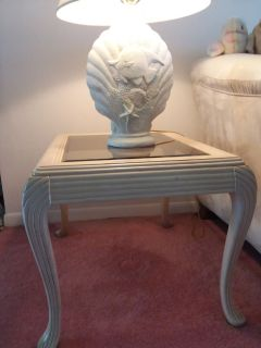 Coffee table. and end table