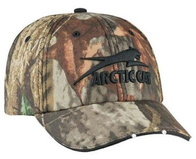 Buy New Arctic Cat Lighted Camo Adjustable Cap - Part 5223-067 motorcycle in Spicer, Minnesota, United States, for US $27.95