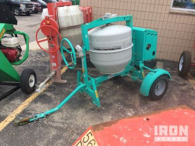 Imer Workman II Multimixer Portable Concrete Mixer
