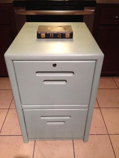 $85, Modern Chic Refinished File Cabinet OBO