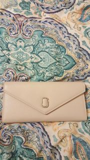 Leather wallet and purse