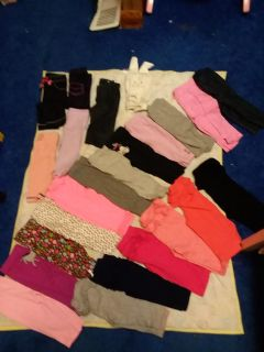 Lot of 24 Size 3-6/6 Month Pants