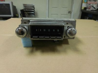 Buy 1968 Chevrolet Impala Core AM Radio (Needs service) motorcycle in San Jose, California, United States