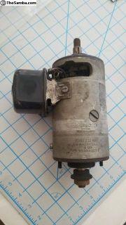 genuine Bosch Porsche 6 volt generator