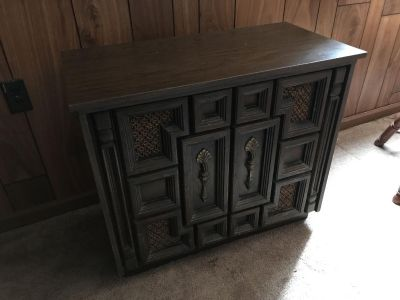 Old time stereo cabinet