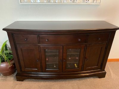 Buffet - Sideboard Cherry with wine storage