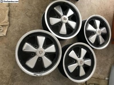 Set of four 1973 fuchs wheels