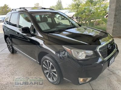 2018 Subaru Forester 2.0XT Touring (Crystal Black Silica)