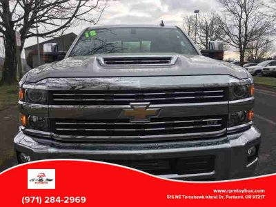 Used 2018 Chevrolet Silverado 3500 HD Crew Cab for sale