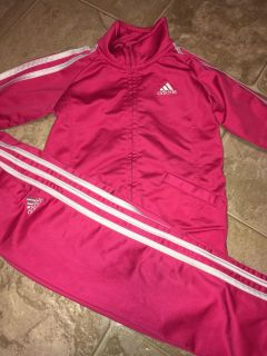 Adidas 4t track suit -pink