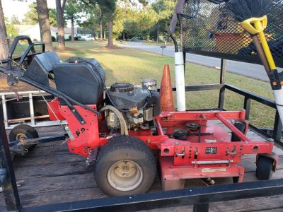 Gravely Walk Behind Commercial Mower w/Sulky