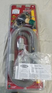 Hyde Drywall Vacuum Sander Kit with 3ft - 6ft Extension Pole