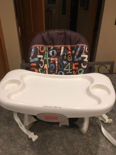 Fisher Price on-chair high chair