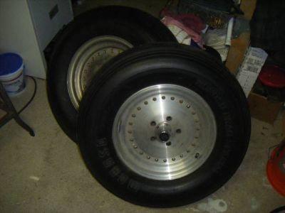 Centerline aluminum front wheels 15 x 4.5 / 4.5 bolt circle
