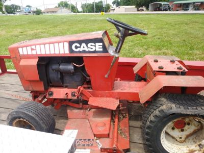 Case Garden Tractor Mower.