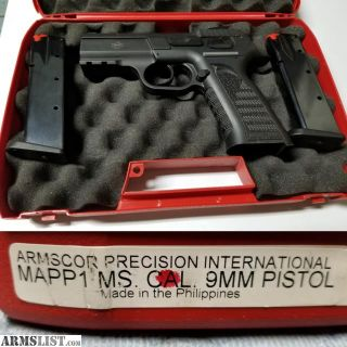 For Sale/Trade: Off Roster - Tanfoglio MAPP 1 - MS 9