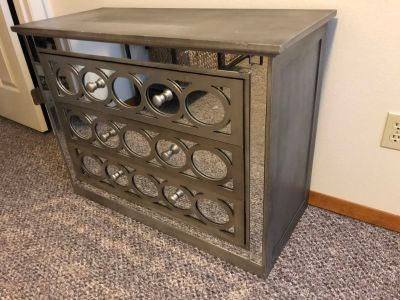 *PRICE DROP* 3 Drawer Dresser with Awesome Mirror Front