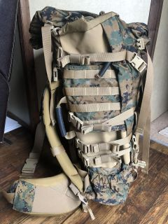 Military backpack new never used
