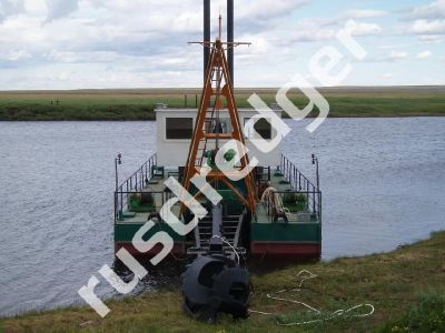 Dredger 1600 by URAL HYDROMECHANICAL PLANT, CJSC