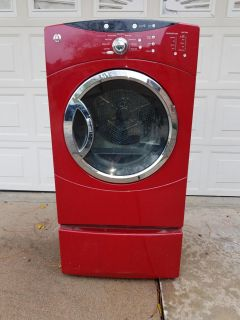 G.e Front load dryer
