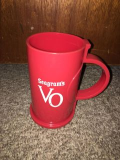 Plastic Seagrams cup