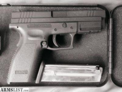 For Sale: Springfield XD9 4""