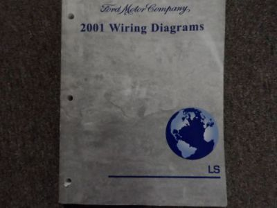 Sell 2001 Lincoln LS Wiring Diagram Electrical Service Shop Manual EWD DEALERSHIP motorcycle in Sterling Heights, Michigan, United States, for US $11.95