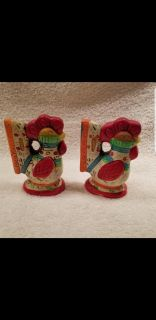 Vintage rooster Salt and pepper shakers from Japan