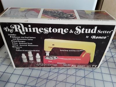 Ronco Rhinestone and Stud Setter