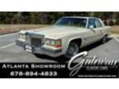 1983 Cadillac DeVille -- 1983 Cadillac DeVille Coupe 4.1L V8 3 Speed Automatic