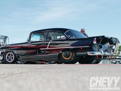 1955 or 1957 CHEVY RACE CAR