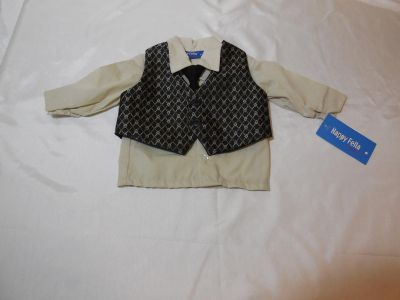 New Dressy Shirt and Vest