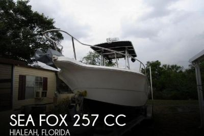 2001 Sea Fox 257 CC