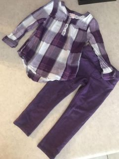 Adorable Jumping Beans Outfit Girls Size 2T Excellent Condition $3.50